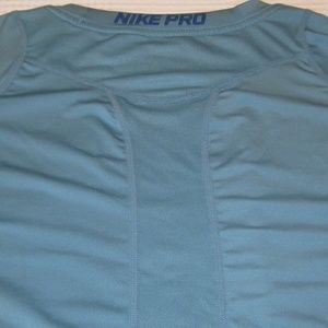 Nike Shirts - Nike Mens Pro Cool Fitted Dri-FIT Swoosh T-Shirt